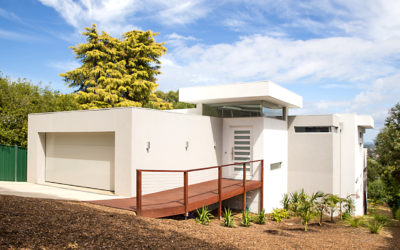 Why building on a sloping block is best left to the experts